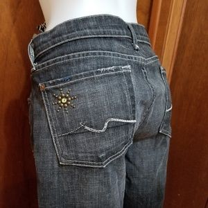 7 for all mankind jeans The Great China Wall sz 31